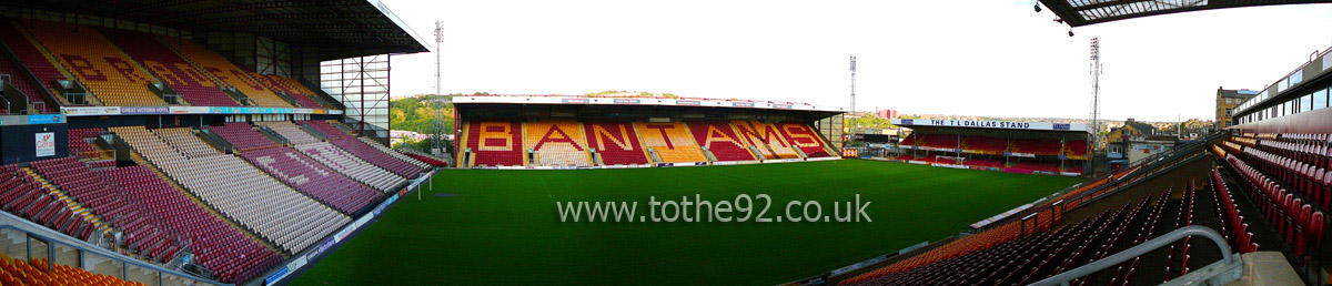 football league ground guide bradford city fc coral tattoo design bild. Black Bedroom Furniture Sets. Home Design Ideas