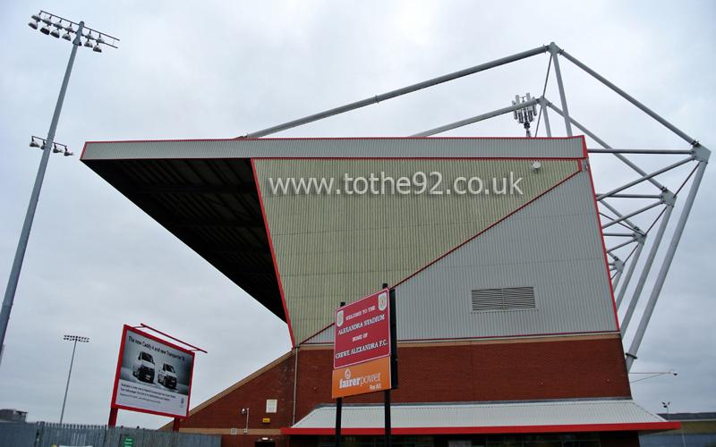 Football League Ground Guide Crewe Alexandra Fc