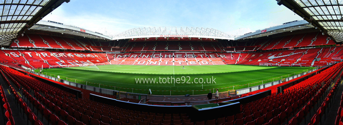manchester united fc old trafford football league ground guide football league ground guide to the 92