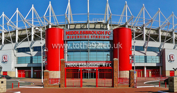 Football League Ground Guide - Middlesbrough FC - Riverside