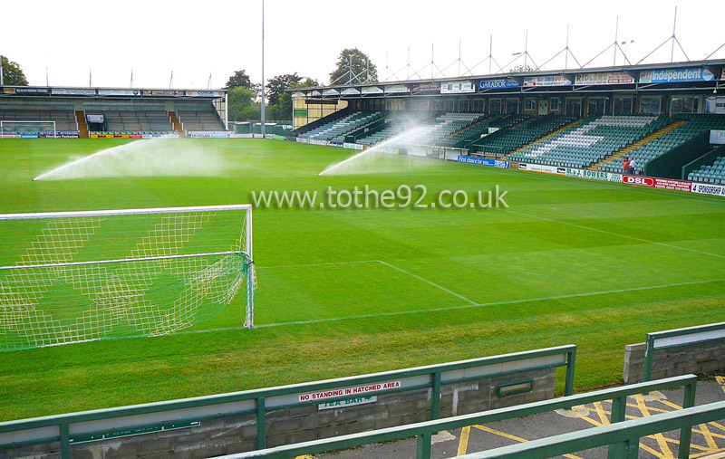 Football League Ground Guide Yeovil Town Fc Huish Park