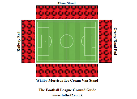 Football League Ground Guide Crewe Alexandra Fc Gresty