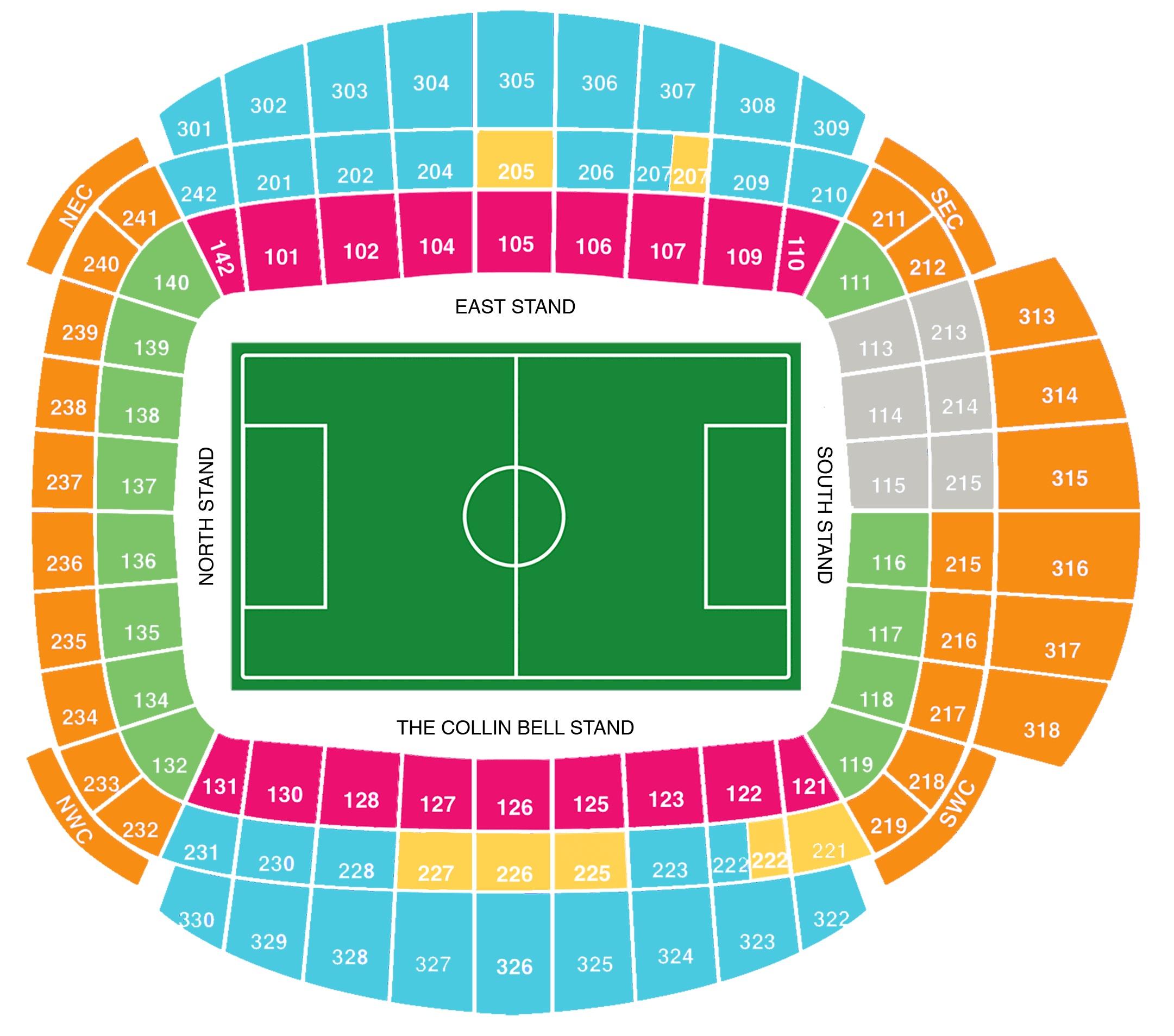 Manchester City Fc Etihad Stadium Football League Ground Guide