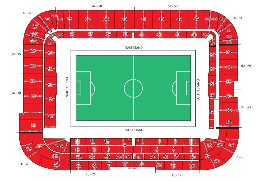 Middlesbrough Fc Riverside Stadium Football League Ground Guide
