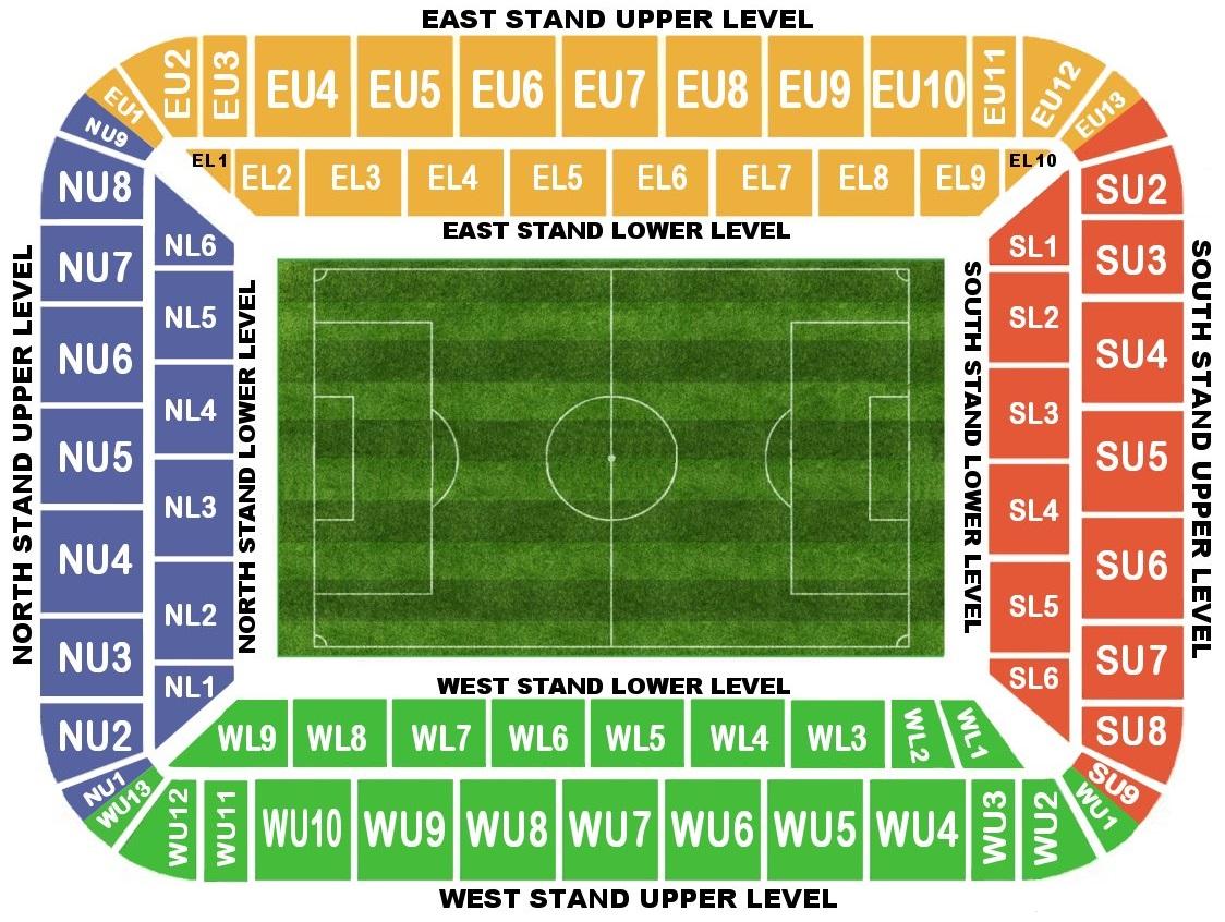 Bristol City Stadium Seating Plan Liberty Stadium Seating Plan
