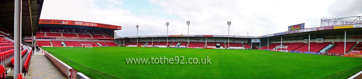 Football League Ground Guide Walsall Fc Banks Stadium