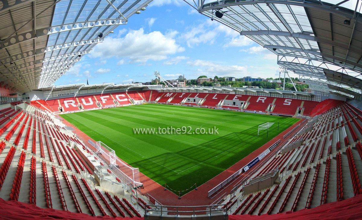 Rotherham united fc new york stadium panoramic