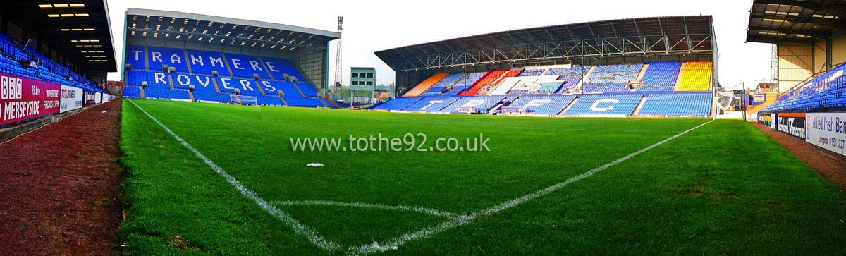 Football League Ground Guide Tranmere Rovers Fc Prenton Park