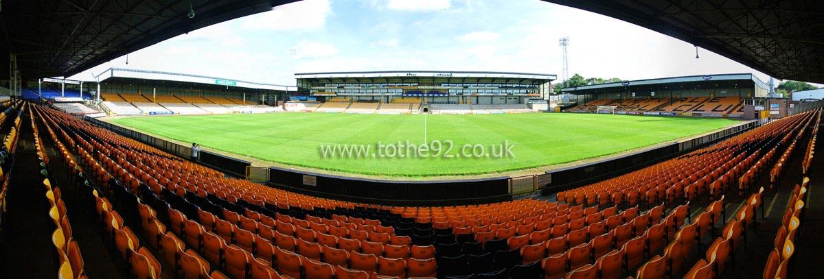 Football League Ground Guide Port Vale Fc Vale Park