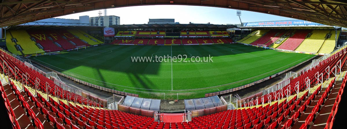 Football League Ground Guide Watford Fc Vicarage Road