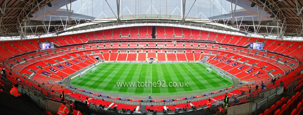 what is the capacity of wembley stadium