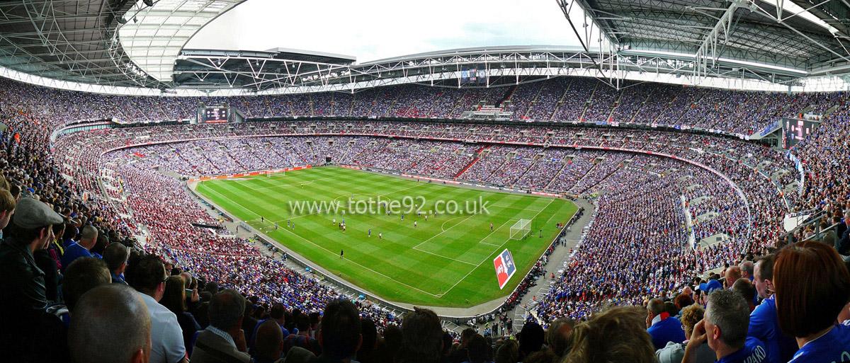 Football League Ground Guide - Wembley Stadium