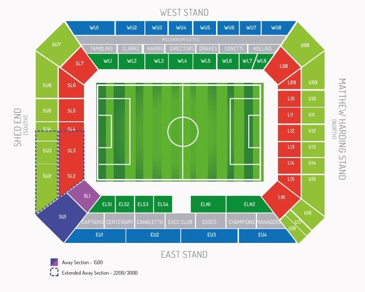 Chelsea FC | Stamford Bridge | Football League Ground Guide