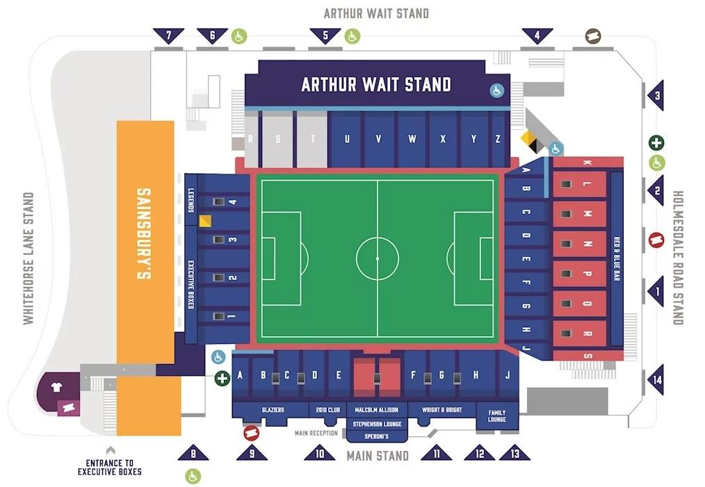 Crystal Palace FC   Selhurst Park   Football League Ground Guide