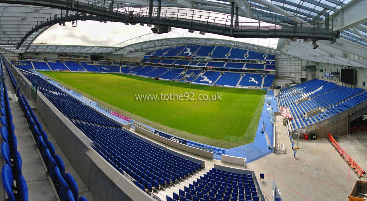 Brighton & Hove Albion FC | American Express Stadium | Football ...