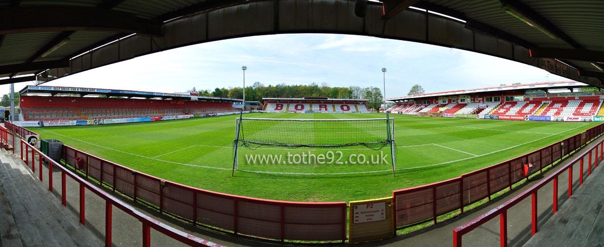Football League Ground Guide - Stevenage FC - Lamex Stadium